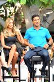 Mario Lopez and Renee Bargh