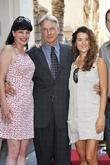 Pauley Perrette, Mark Harmon and Cote De Pablo