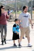 Rhea Durham, Michael Wahlberg and Mark Wahlberg