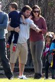 Brendan Wahlberg, Mark Wahlberg and Rhea Durham