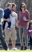 Brendan Wahlberg, Rhea Durham and Mark Wahlberg