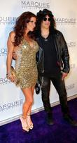 Slash and Perla Hudson The launch of Marquee...
