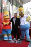 Matt Groening and Star On The Hollywood Walk Of Fame