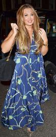 Lauren Goodger out and about in Mayfair, dining...