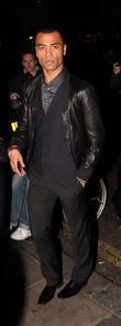 Ashley Cole  leaving the Mayfair Hotel London,...
