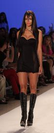 Model, Karina Smirnoff, Mercedes Benz Fashion Week