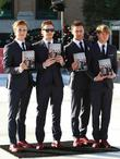 Tom Fletcher, Danny Jones, Harry Judd, Dougie Poynter, Selfridges