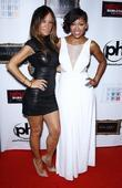 Robin Antin and Meagan Good