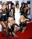 Robin Antin, Meagan Good and Pussycat Dolls