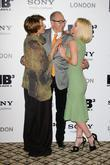 Emma Thompson, Alice Eve and Barry Sonnenfeld