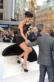 Nicole Scherzinger, Lewis Hamilton and Odeon Leicester Square