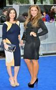 Lauren Goodger and Odeon Leicester Square