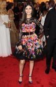 Victoria Justice, Chanel Iman and Metropolitan Museum Of Art