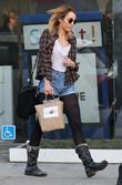 Miley Cyrus leaves pet store Spot! in Hollywood...