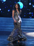 Camila Solorzano Ayusa and Miss Argentina