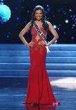 Dulcita Lieggi and Miss Dominican Republic