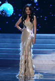 Maria Selena and Miss Indonesia