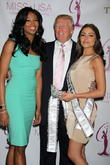 Miss USA Nana, Meriwether, Donald Trump, Miss Universe Olivia Culpo