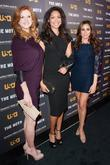 L-R Sarah Rafferty, Gina Torres and Meghan Markle...