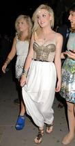 Perrie Edwards Celebrities outside Movida nightclub London, England