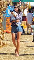 Alessandra Ambrosio,  Celebrity moms and their kids...
