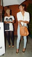 LeToya Luckett outside Mr Chow restaurant in Beverly...