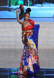 Miss Universe Pageant Costume, Show At, Live Theatre Inside Planet, Hollywood Resort, Casino Las Vegas