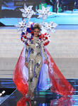 Miss Universe Pageant Costume, Show At, Live Theatre Inside Planet, Hollywood Resort and Casino Las Vegas