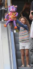 Halle Berry's daughter Nahla Aubry spotted with dad...
