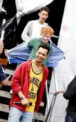 Ed Sheeran and Rizzle Kicks Nando's GigNics at...