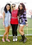 Leigh-Anne Pinnock, Perrie Edwards and Jesy Nelson of...