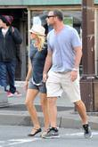 Naomi Watts and Liev Schreiber out and about...