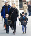 Naomi Watts, Samuel, Sasha and New York City
