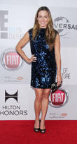 Natalie Coughlin and Beverly Hilton Hotel