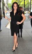 Melissa Gorga Celebrities outside the NBC Studios New...