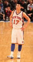 Jeremy Lin  NBA game between New York...