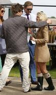 Francesca 'Cheska' Hull enjoys the day at Newmarket...