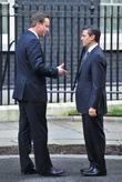 Mexican President-elect Enrique Pena, R, L, Nieto, British Prime Minister David, Cameron, Downing Street and 10 Downing Street