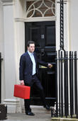Chancellor George Osbourne, Downing Street and Treasury