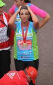 Cara Kilbey The 2012 Virgin London Marathon London,...