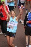 Linda Barker The 2012 Virgin London Marathon London,...