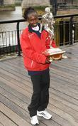 Mary Keitany London Marathon 2012 Winners photocall, held...