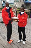 Wilson Kipsang and Mary Keitany London Marathon 2012...