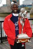 Wilson Kipsang  London Marathon 2012 Winners photocall,...