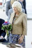 Camilla, Duchess of Cornwall  arrives at the...
