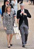 Andrew Mitchell and guest attend the 2012 Trooping...