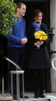 Prince William, Duke, Cambridge, Catherine, Duchess, King Edward, Hospital, Monday