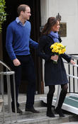 Prince William, Duke, Cambridge, Catherine, Duchess, King Edward, Hospital and Monday