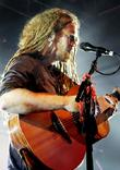 newton faulkner performing at liverpool o2 academy