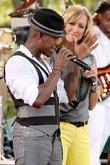 Ne-Yo and Lara Spencer